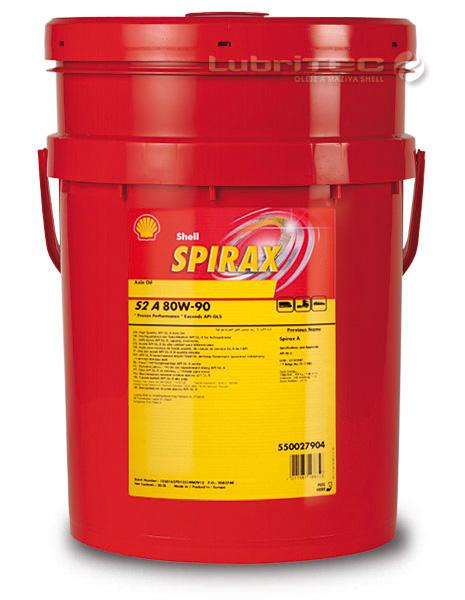 Масло Shell Spirax 80W 90